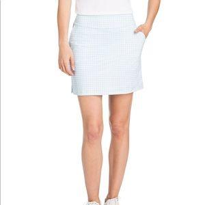 NWT Vineyard Vines Gingham Performance Skirt XS